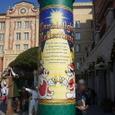 ハーバー街灯の柱