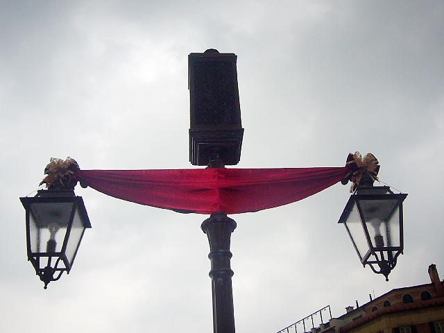 メディテレーニアンハーバーの街灯
