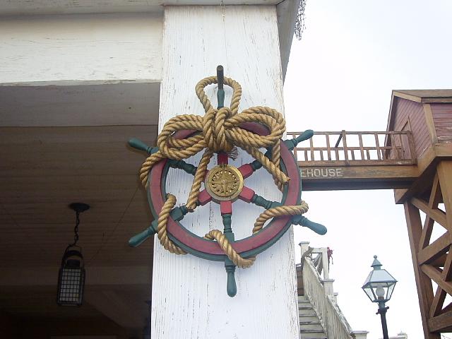 ボートビルダーの柱