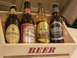 瓶ビールが4種類