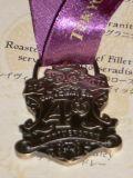 4周年のメダル