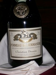 Pommeau de Normandieのラベル